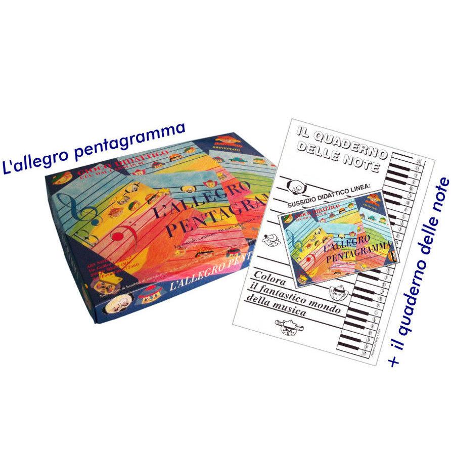 L 39 allegro pentagramma sussidio gioco didattico musicale for L allegro stampatello